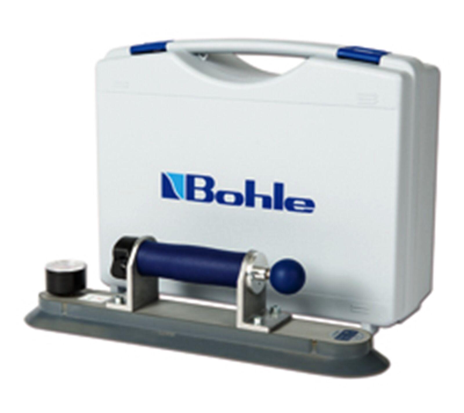 Veribor® Pumpensaugheber aus Aluminium mit Zugpumpe, im im im Koffer,  Sauger, 3d6af7