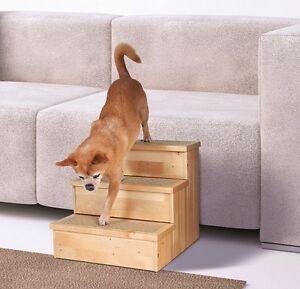 Trixie-Pet-scala-scale-per-cani-e-gatti-betulla-40X38-45cm-Passi-tappeto-cop