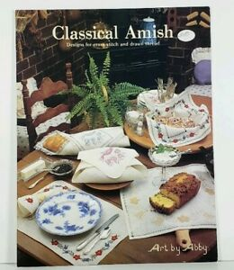 Cross-Stitch-and-Drawn-Thread-Chart-Classical-Amish-Art-by-Abby