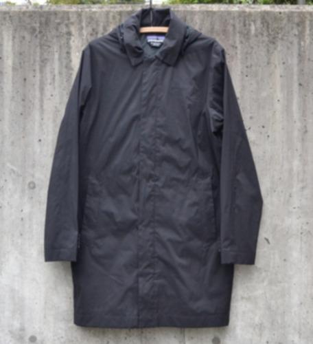 Patagonia Men's FOGBANK Trench Rain Jacket Parka H