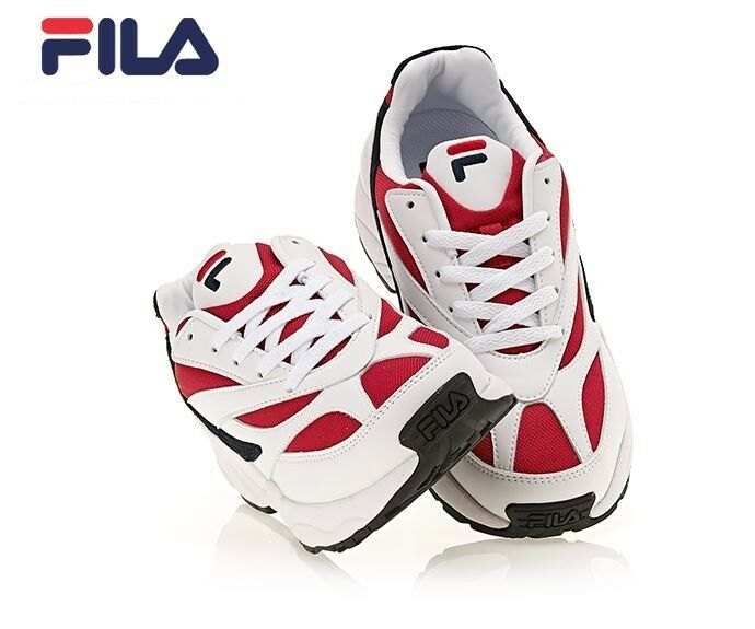 FILA Men's Filavenom 94 Heritage White Red Fashion Sneakers, shoes FS1HTA3031X