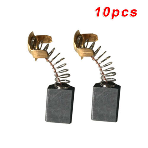 10pcs Electric Motor Carbon Brushes Set Power Tool Replace Fittings 7*11*18mm