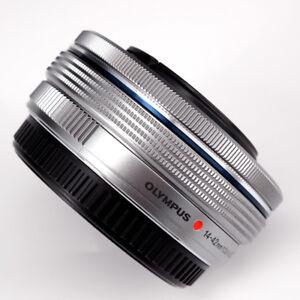 Without-Box-Olympus-M-Zuiko-Digital-ED-14-42mm-F3-5-5-6-EZ-Lens-Silver