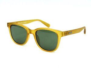 Crave Homeland Unisex Polarized Sunglasses, Matte Honey / Green #45I