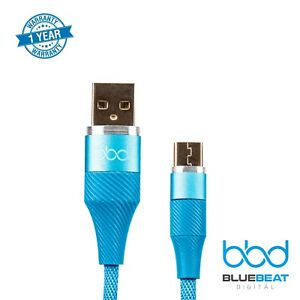 High-Speed-Micro-USB-Cable-3A-Fast-Charge-amp-Sync-Durable-Nylon-Braided-3-3ft