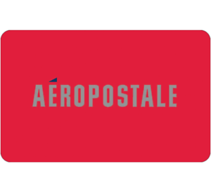 Buy a $50 Aeropostale Gift Card for only $40 - Via email delivery