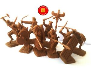 NOUVEAU!!! Publius Guerriers Perses, GRECO-PERSIAN WARS, 8 Caoutchouc soldats 1:32