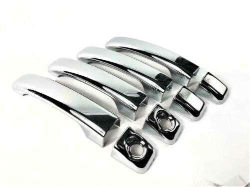 Renault Master 2010Up ABS Chrome Door Handle Cover 4Door/&Chrome Mirror Cover