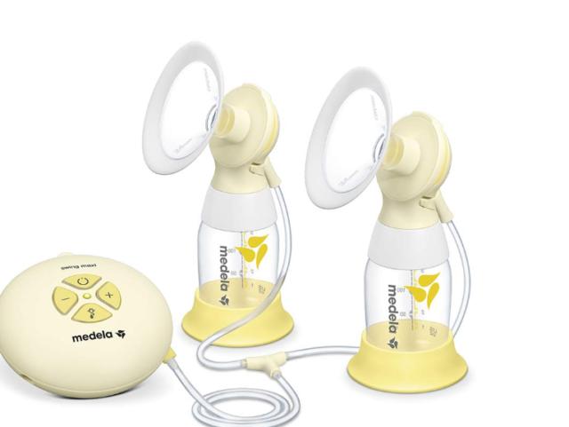 Medela elektrische Milchpumpe Swing Maxi Flex Brustpumpe Stillen Babyflasche