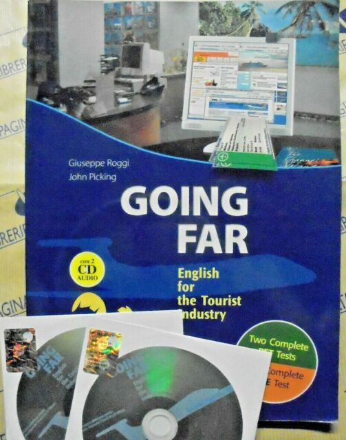 GOING FAR con 2 Cd. ENGLISH FOR THE TOURIST INDUSTRY - G.ROGGI - F.LUCISANO ED.