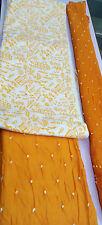 Cotton bandhani salwar dupatta varli print dress material
