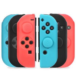 Nintendo-Switch-Joy-Con-Joycon-Anti-Slip-Silicon-Guard-Skin-Case-Thumb-Grip-Caps