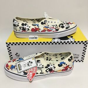 378aebbd78f1 Vans Disney Mickey s 90th Birthday Authentic Mens 13 Shoes SOLD OUT ...