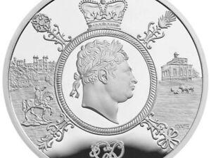 2020 Giorgio III £ 5 POUND MONETA FIOR DI CONIO Royal Nuovo di zecca bunc
