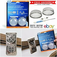 Camco RV Awning Flying Insect Screens Furnace Vent Bug Trailer Camper Part Mesh