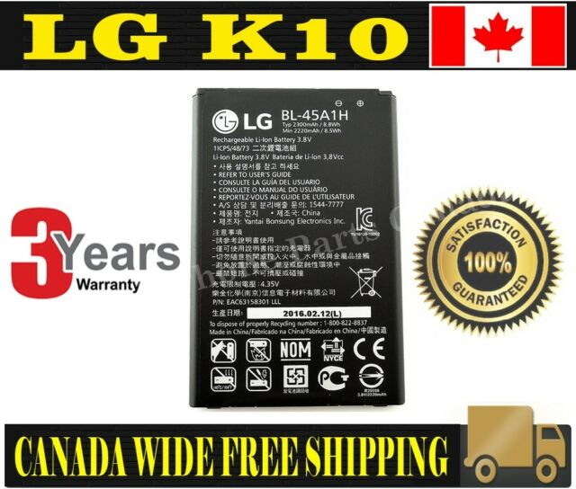 Brand NEW Original OEM Replacement Battery LG K10 with tools
