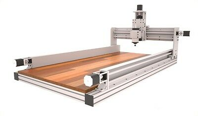 3D CNC Router Plans , 3 Axis with 2'x4' and 4'x 4' information