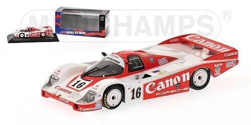 Porsche 956 canon Lloyd Mason Mason Mason 24h le mans 1984 1 43 Model Minichamps e7487b