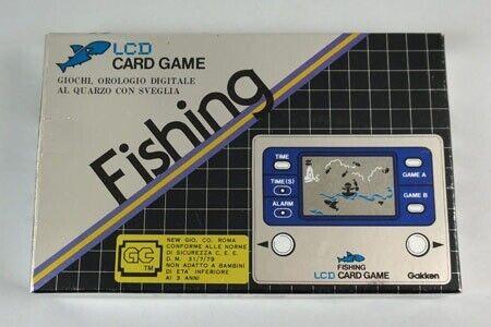 """Købes: Gakken LCD spil:  """"Fishing"""" (1981)  Jeg..."""