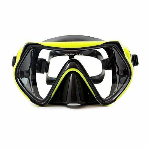 Innovative Premium Diving Goggles by Sportastisch  Hardened Anti-Mist Glasses fo