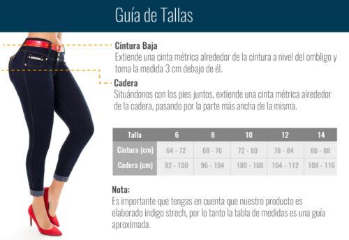 soulèvements Jeans colombiens Lust Colombian push up Authentiques 1wBBCq