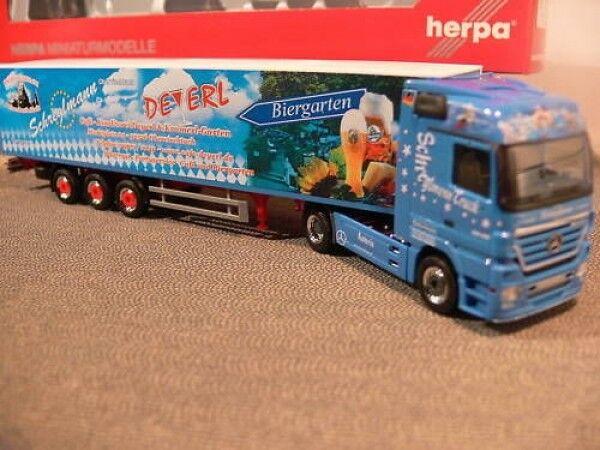 1 87 Herpa 157261 MB MB MB actros SZ schreglmann deyerl f981b2