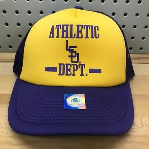 Louisiana State University LSU Tigers NCAA Vault TOW Yellow Trucker Hat NWT Cap