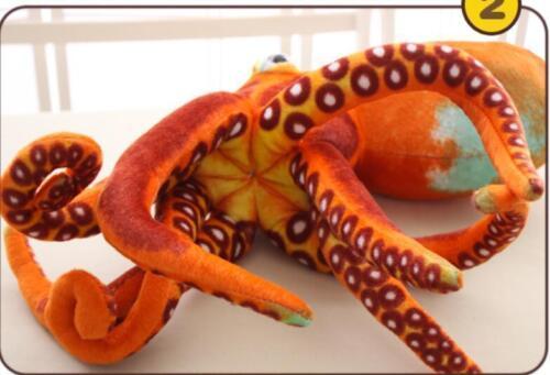 Simulation Toy Octopus Plush Giant Stuffed Cushion Animal Doll Soft Pillow Gift