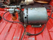 Fisher Scientific Air Compressor With General Electric Motor Paint Dental Tattoo