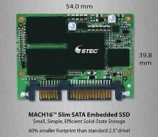 Brand New Hitachi/STEC 50GB Mach16 Slim SATA 5v SLC  M16SD2S-50UC