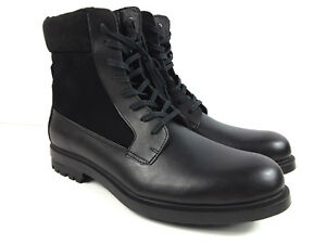 71518e5efd3 Calvin Klein Gable Plain-Toe Combat Men s Boots Hiking US Size 13 ...