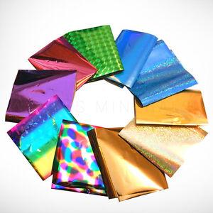 10x-Nail-Transfer-Foil-Art-Tips-Marble-Galaxy-Decoration-DIY-USA-SELLER
