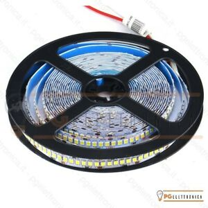 STRISCIA-LED-1200LED-SMD-Bobina-5mt-Strip-2835-24V-ALTA-LUMINOSITA-039-IP20