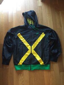 Original Kway Nike Vintage Jamaique Trainning Noir Taille M Rendre Les Choses Pratiques Pour Les Clients