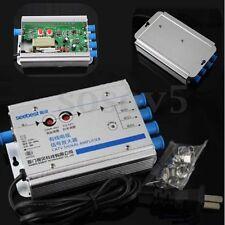 Antenna TV Signal Amplifier Booster Splitter CATV VCR 4 Channel 30db 45-880MHz