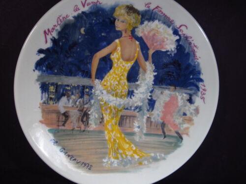 Limoges 1976 Women of The Century 1935 French  MARLENE LA VAMP  Ltd Ed Plate