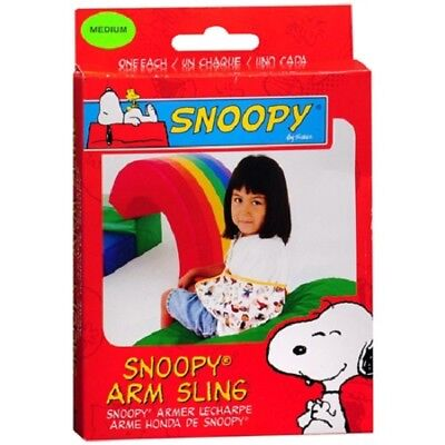 2 Pack Knowledgeable Sportaid Arm Sling Snoopy Medium