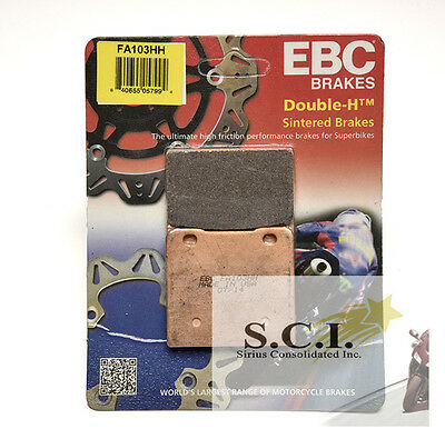 EBC Double-H Sintered Front Brake Pads for SUZUKI VS800 Intruder 1992-2004