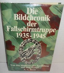 BOOK-WW2-Photo-Chronicle-of-the-Parachute-Troops-op-1985-1st-German-Edition