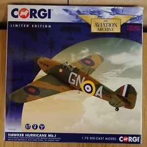 Corgi-AA27605-Hurricane-MkI-FL-James-Brindley-Nicholson-V-C-Ltd-Edition-of-1000