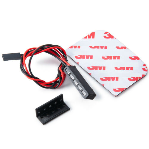 Für 1:10 RC Axial SCX10 II Wraith RR10 TRX4 D90 Tamiya LED Bremslicht Lampe