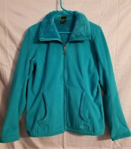 Women's Koppen Reversible Long Sleeve Zippered Collar Coat Jacket SZ Large NWOT