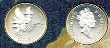 Canada 1995 50 Cents  On The Wing  White Tailed Ptarmigan Sterling Silver  Bird