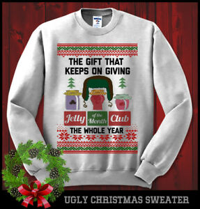 image is loading jelly of the month club christmas vacation griswold - Griswold Ugly Christmas Sweater