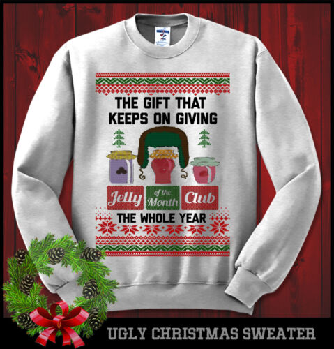 Jelly Of The Month Club Christmas Vacation Griswold Sweatshirt Ugly Sweater