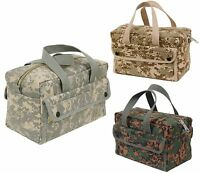 Digital Camouflage Military-style Mechanics Utility Tool Bag - 11 X 7 X 6