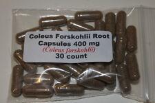 COLEUS FORSKOHLII ROOT CAPSULES  400mg    30 count
