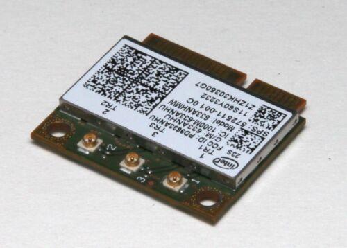 Intel Centrino Ultimate-N 6300 wireless WiFi card A//B//G//N HP 633ANHMW 60Y3233