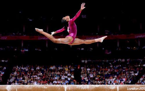 Gabby Douglas Poster Olimpíadas Eu Vários Tamanhos