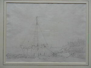 FRANCOIS THOMASLOUIS FRANCIA 17321839 ORIGINAL DRAWING 039SHIP039  PROVENANCE - banbury, United Kingdom - Returns accepted Most purchases from business sellers are protected by the Consumer Contract Regulations 2013 which give you the right to cancel the purchase within 14 days after the day you receive the item. Find out more about  - banbury, United Kingdom